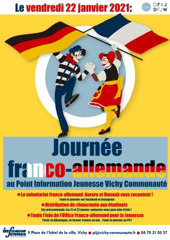 Journée franco-allemande au PIJ !