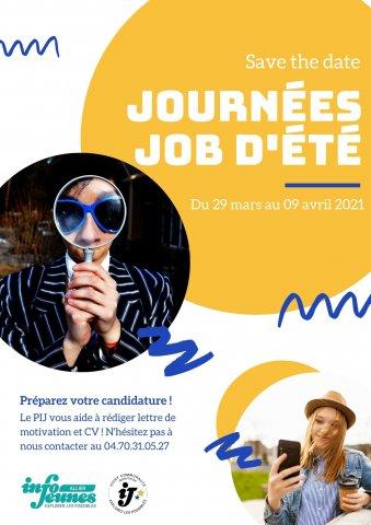 Journées jobs d'été 2021