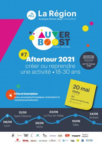 AUVERBOOST: l'aftertour 2021 au PIJ à Vichy