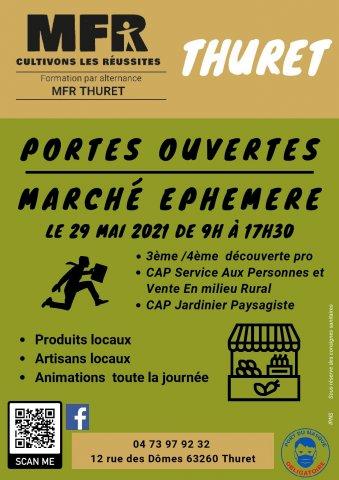 MFR de Thuret: Journée portes ouvertes et marché éphémère!