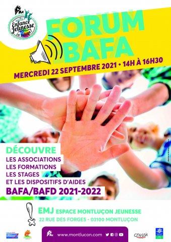 Forum sur le BAFA à l'Espace Montluçon Jeunesse