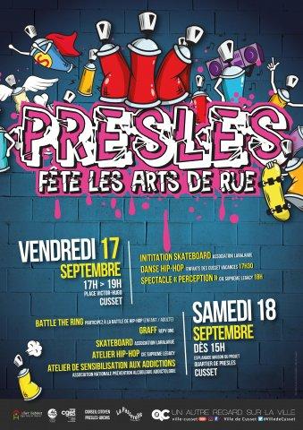 Presles fête les arts de rue !